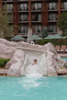 Wilderness Lodge Slide