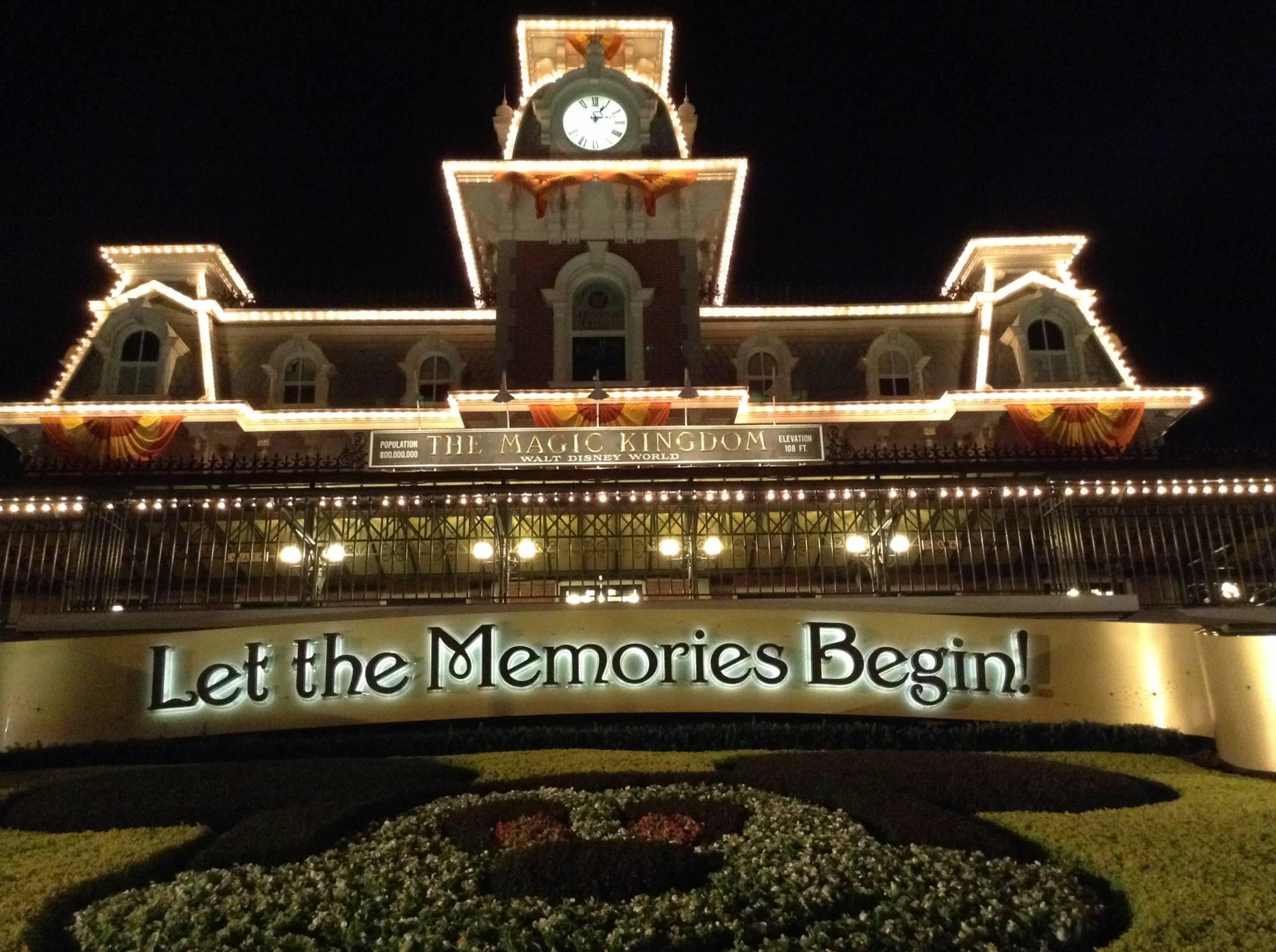 Magic Kingdom - Entrance