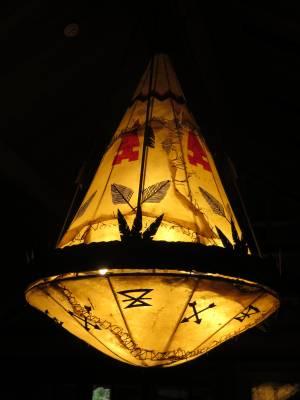Wilderness Lodge - Lobby - Lighting