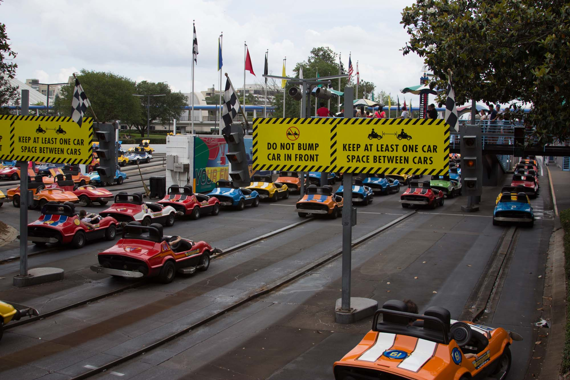 Tomorrowland Speedway - Don't Bump!