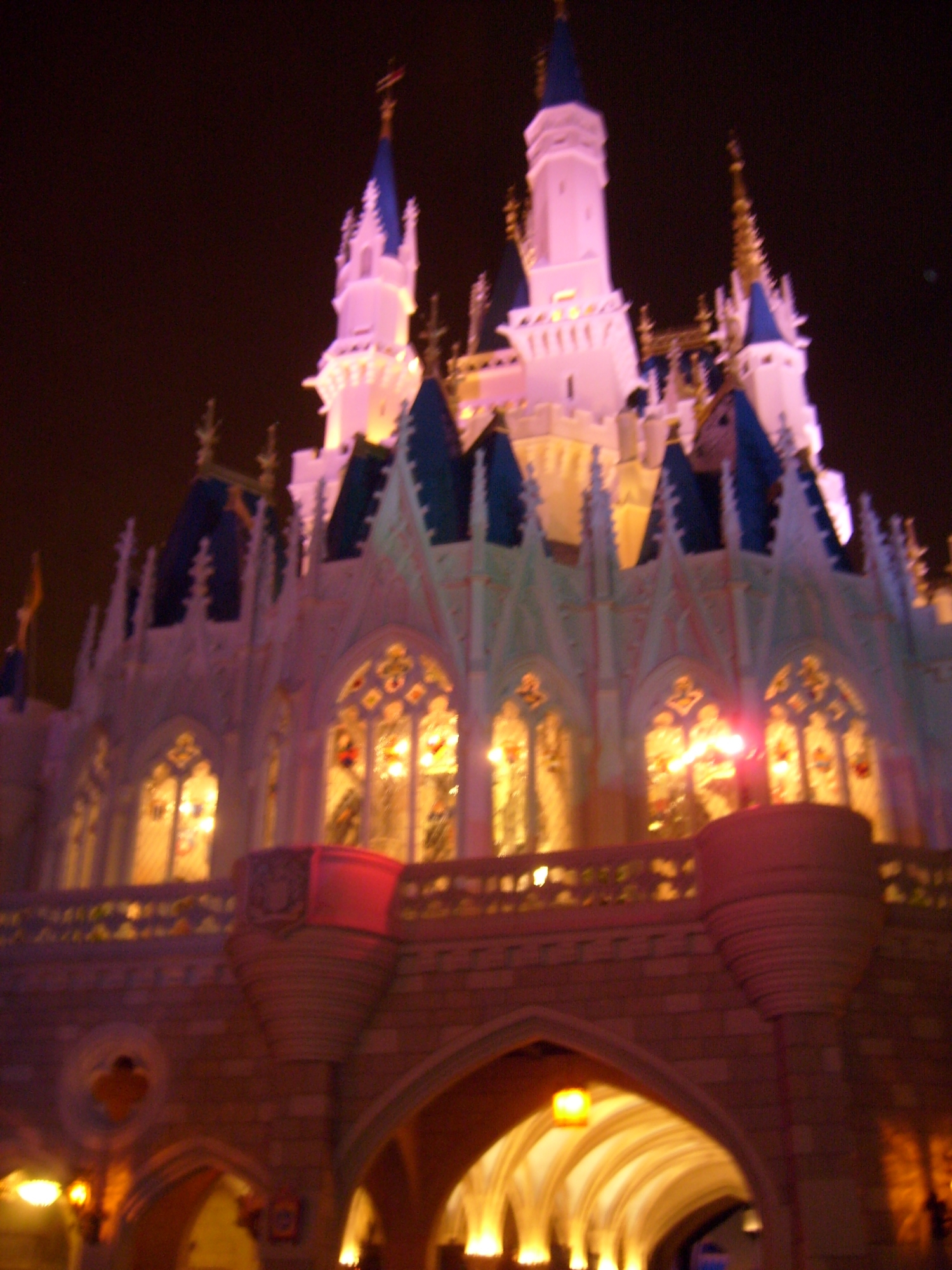Magic Kingdom--Cinderella's Castle--Night of Pirate and Princess Party