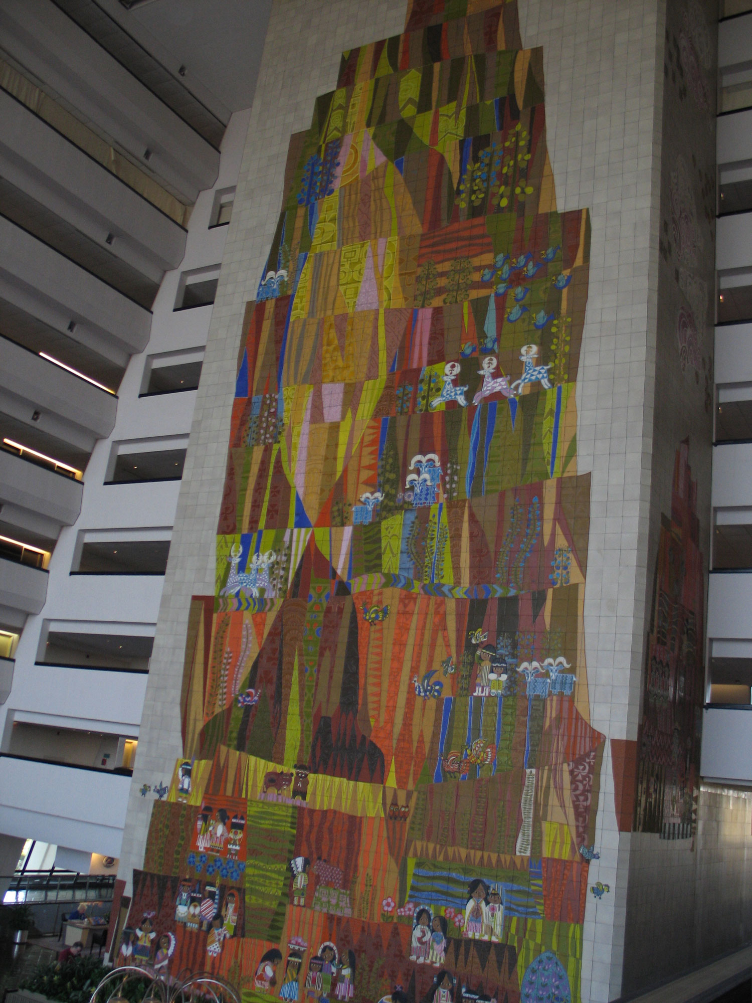 Contemporary Resort Mural