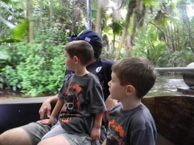 Jennifer Bright Reich's family on Kilimanjaro Safari