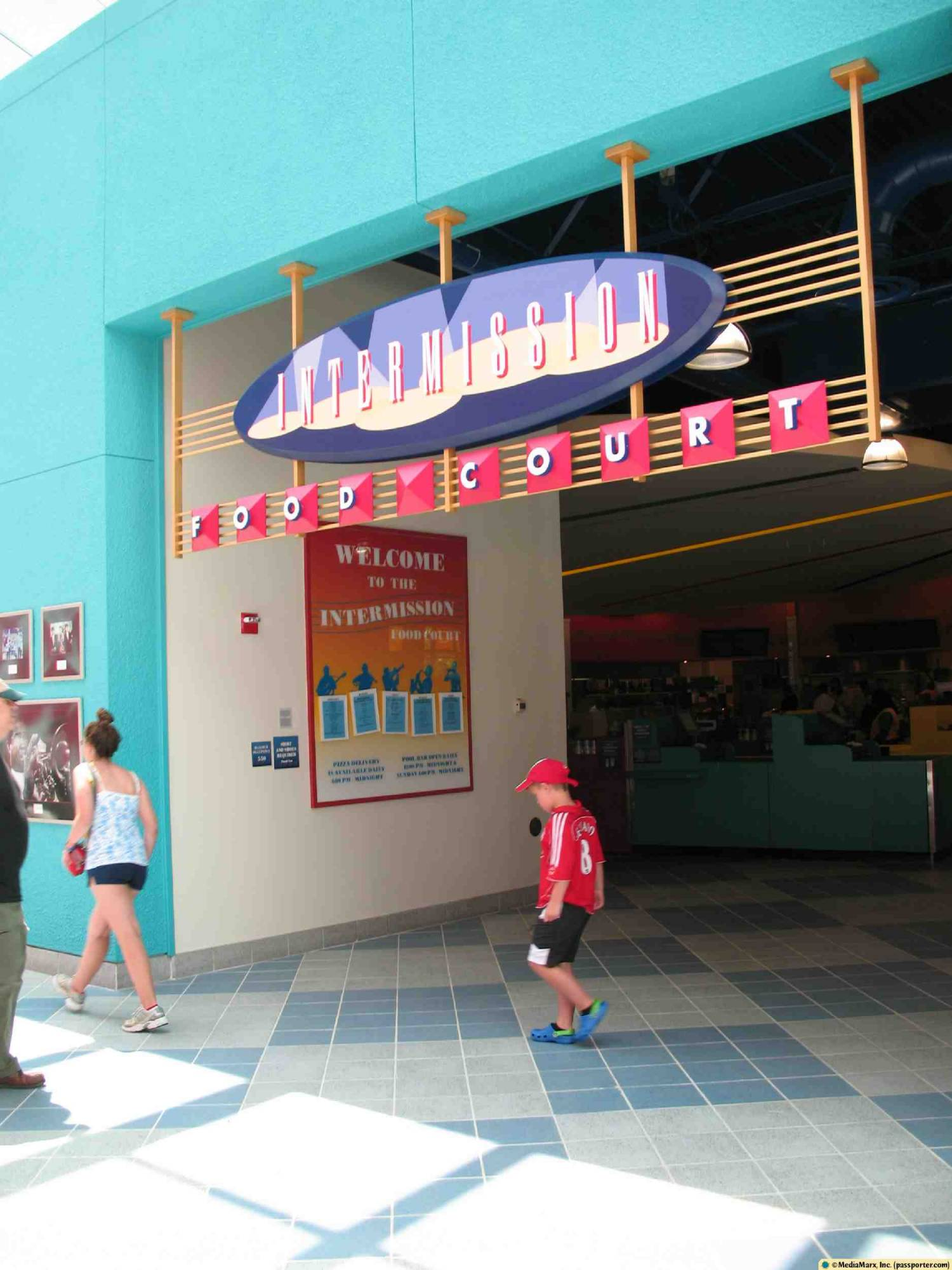 All-Star Music - Food Court Entrance