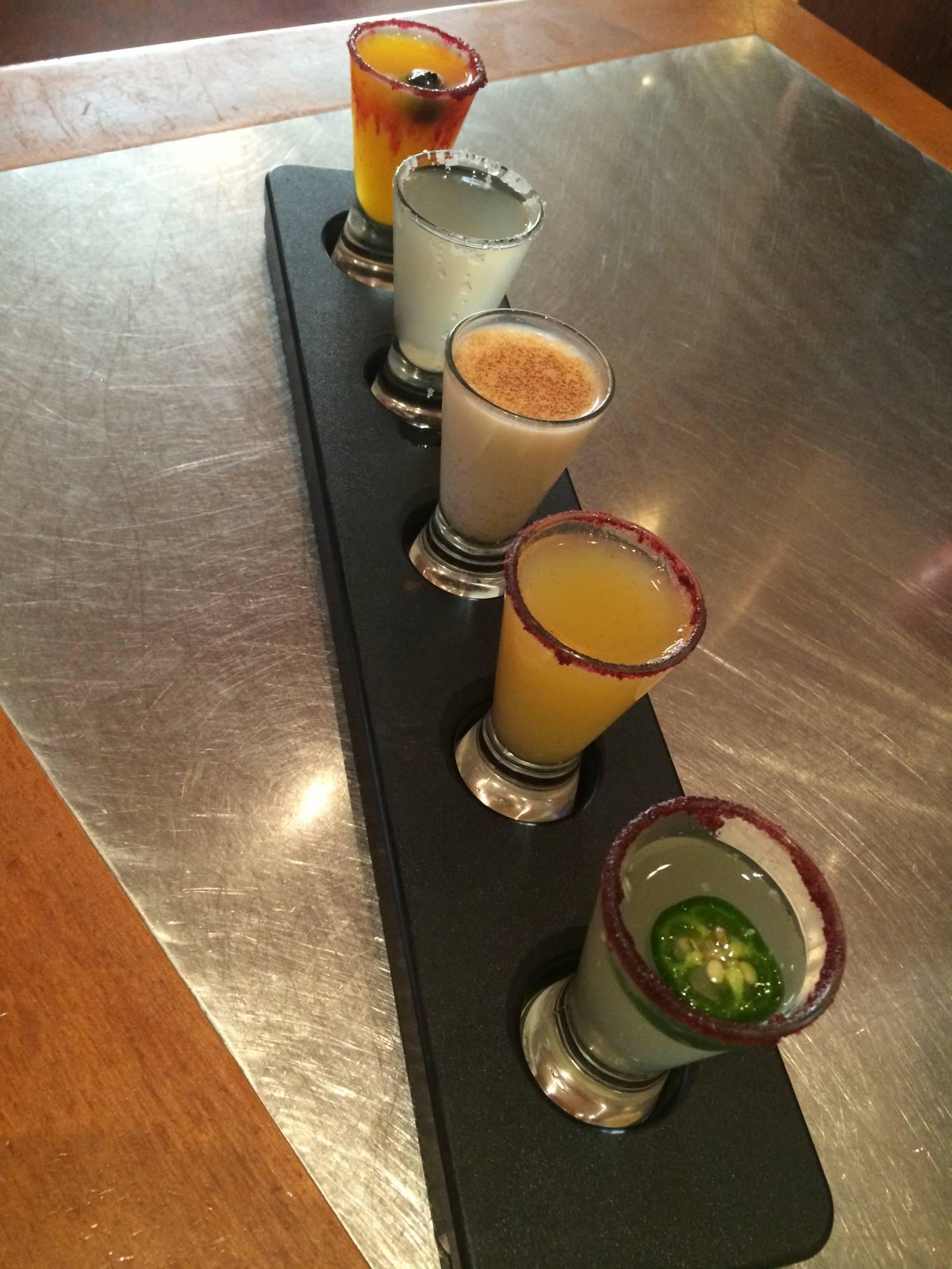 The Margarita Flight - Maya Grill, Coronado Springs