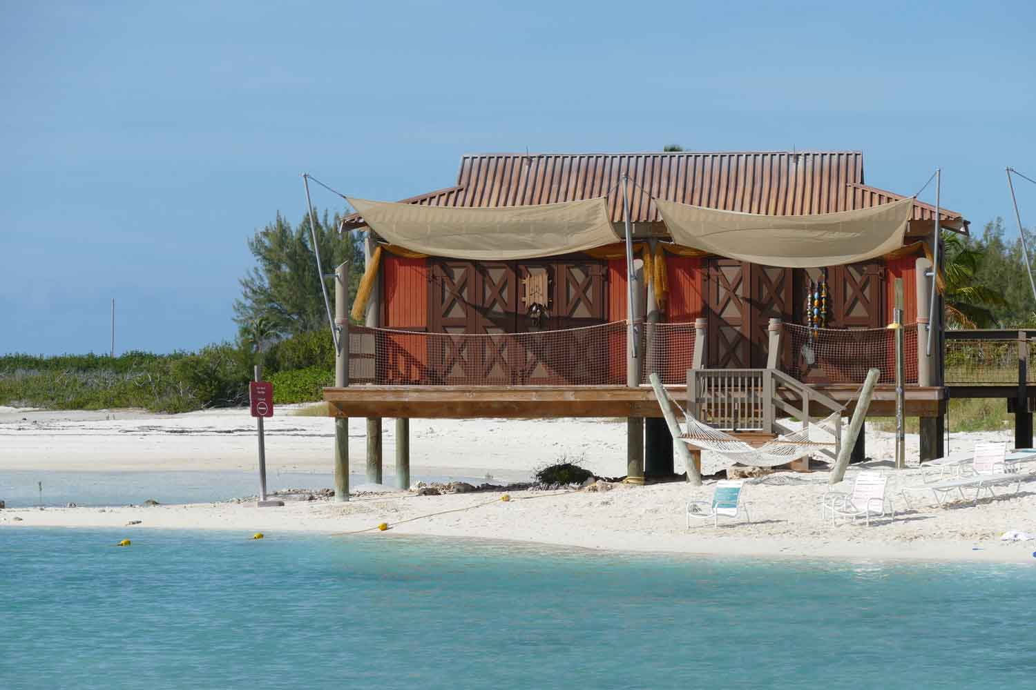 how to get a cabana on castaway cay
