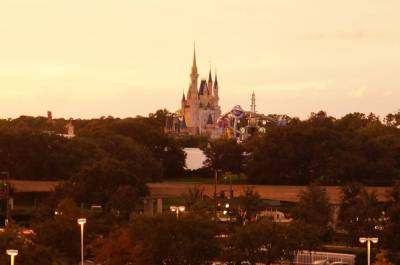 Magic Kingdom from the Contemporary Resort