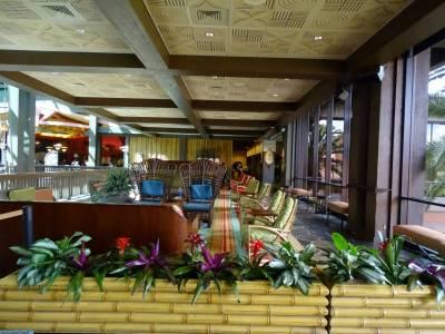 Polynesian - upstairs lobby