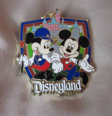 Welcome to Disneyland tour pin