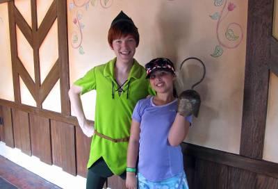 Peter Pan and Cadence