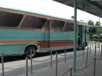 Cabana Bay - Bus