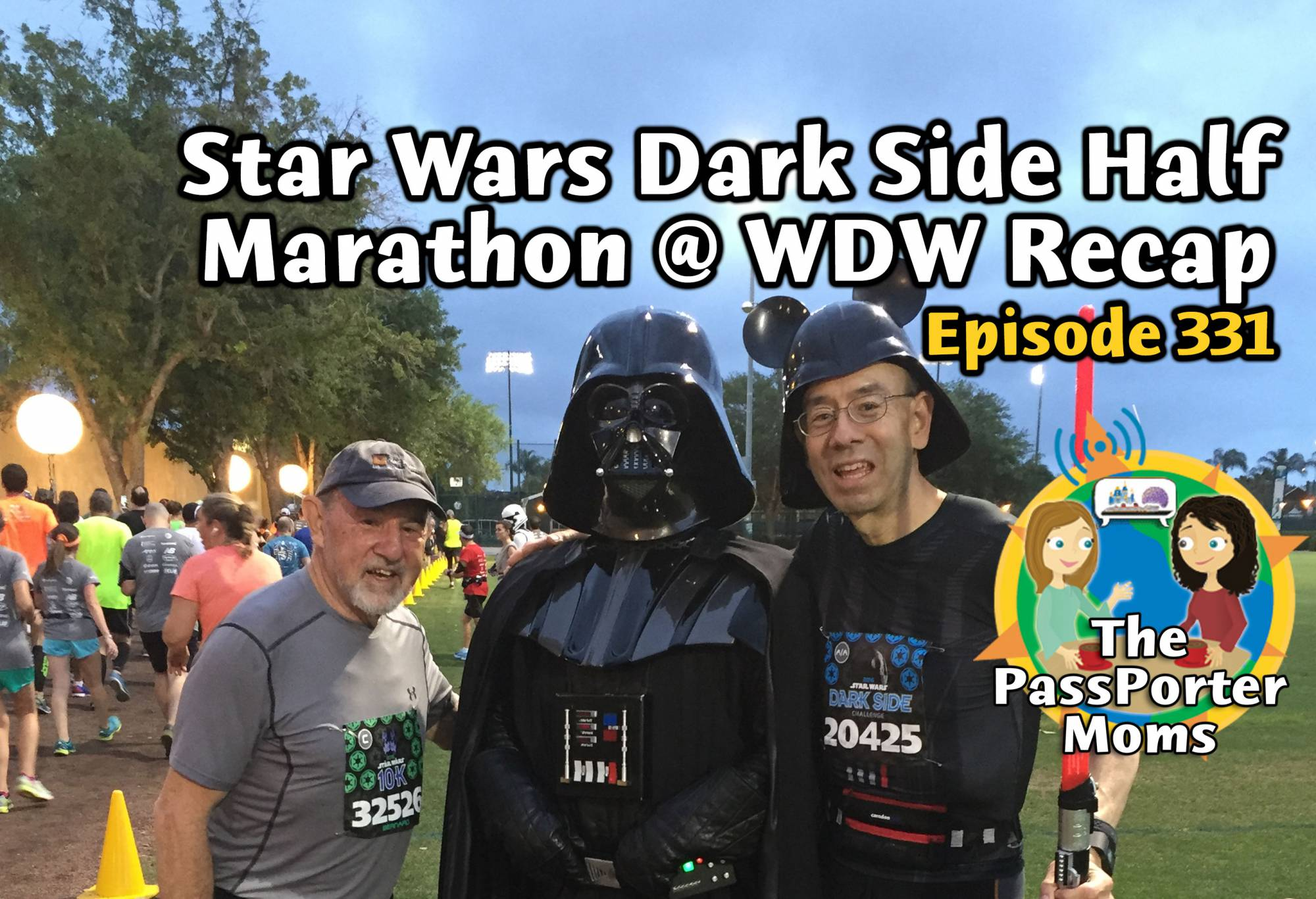 Star Wars Dark Side Half Marathon Recap