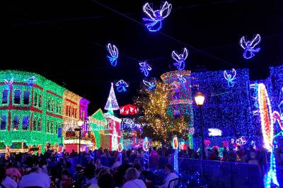 Hollywood Studios Osborne Lights angels