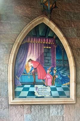Disneyland Sleeping Beauty Castle walkthrough