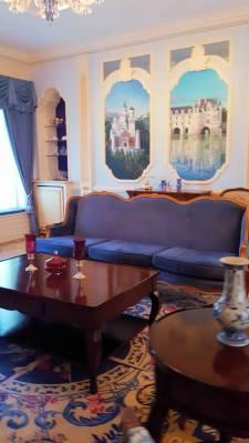 Disneyland New Orleans Square Dream Suite sitting room