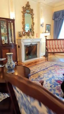 Disneyland New Orleans Square Dream Suite sitting room 2