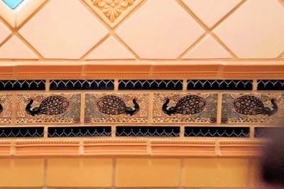 Disneyland New Orleans Square Dream Suite master bath tile details