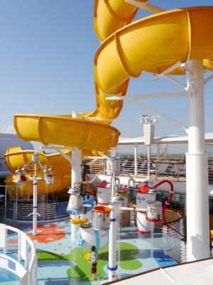 Aqua Lab on the Reimagined Disney Wonder