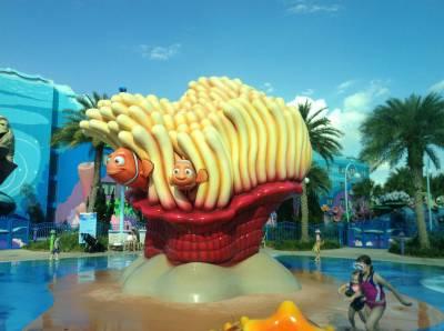 Finding Nemo Pool - Art of Animation