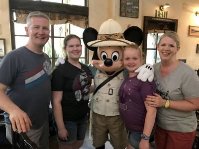 Mickey Mouse Tusker House Dining