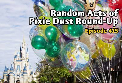 Random Acts of Pixie Dust Round-Up