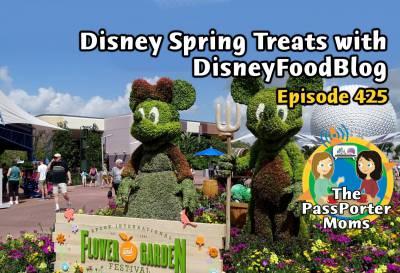 Disney Spring Treats with AJ Wolfe