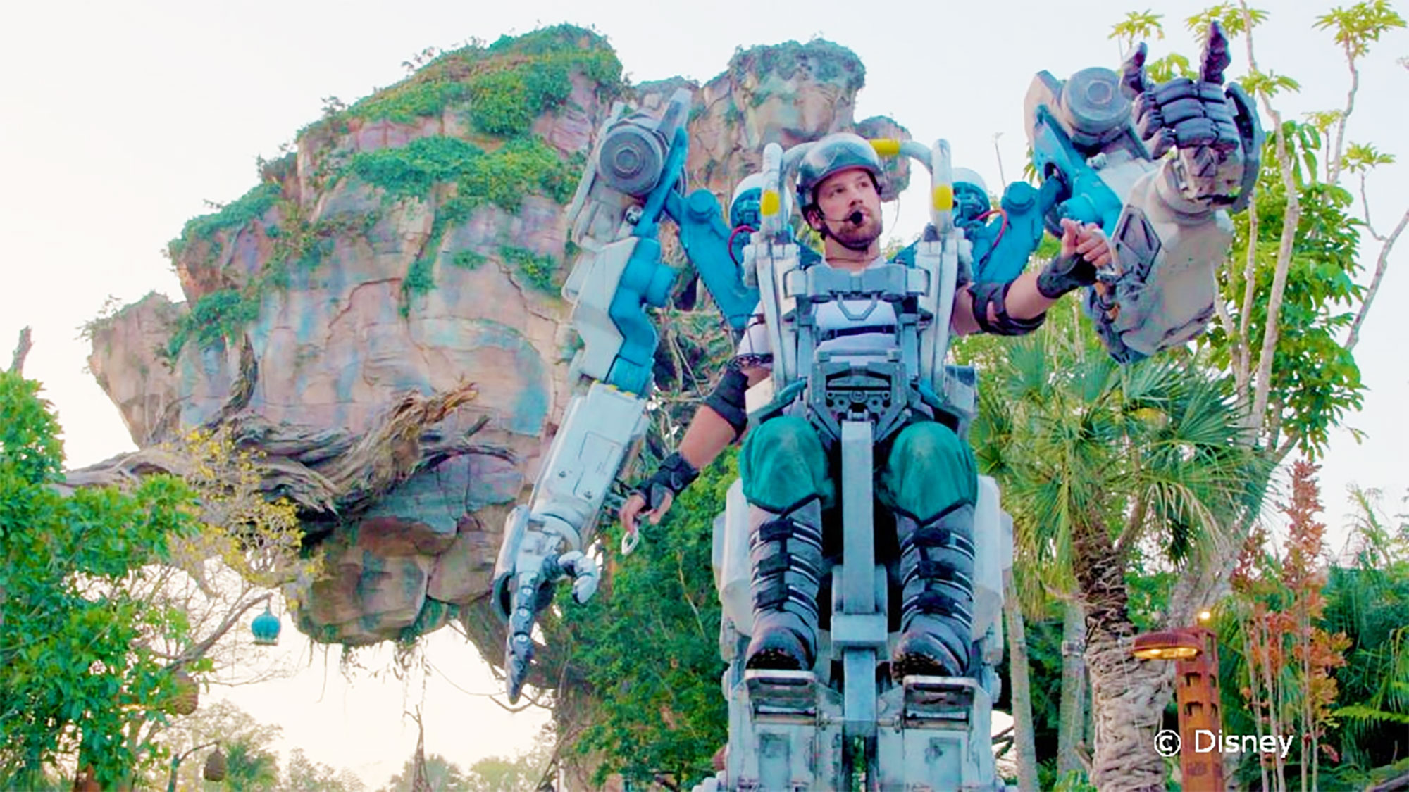 Exo-Carrier Utility Suit at Disneys Animal Kingdom