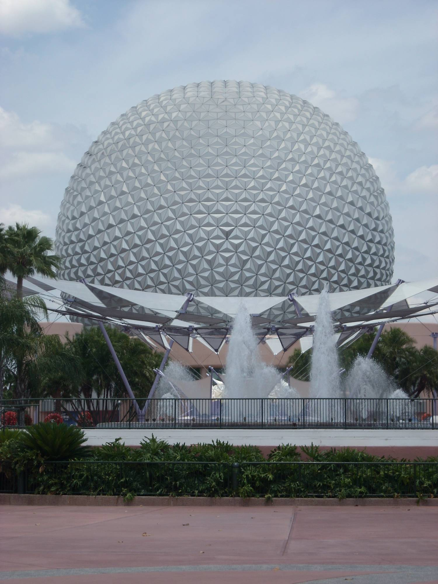 Spaceship Earth - Backside