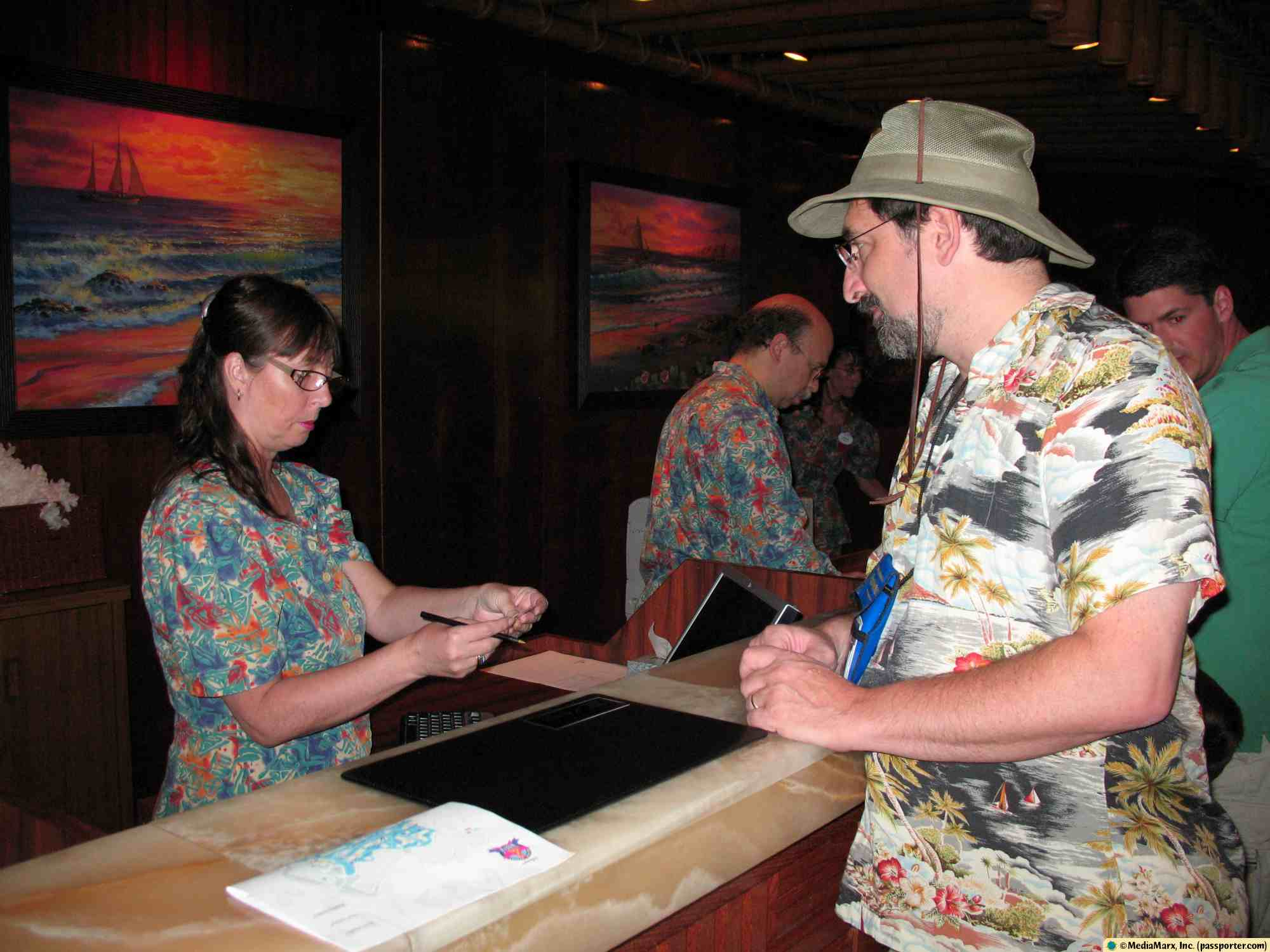 Polynesian - Registration (Check-In)