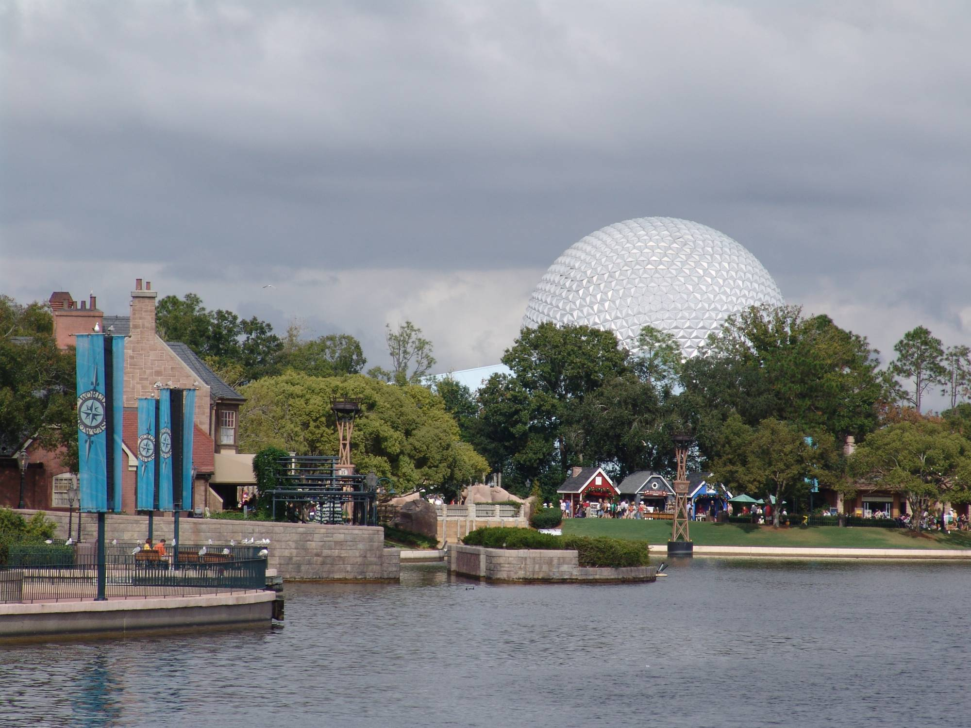 Epcot - Spaceship Earth from World Showcase